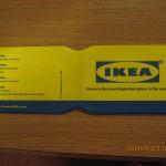 IKEAのOYSTER CARDのカバー