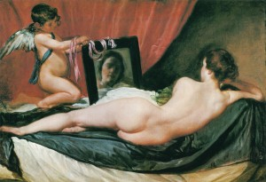 鏡の前のウェヌス