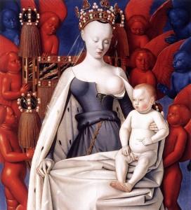 聖母子と天使たち