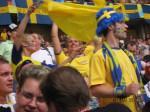 スウェーデンサポーター