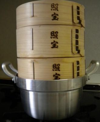 直径15cmの蒸し器